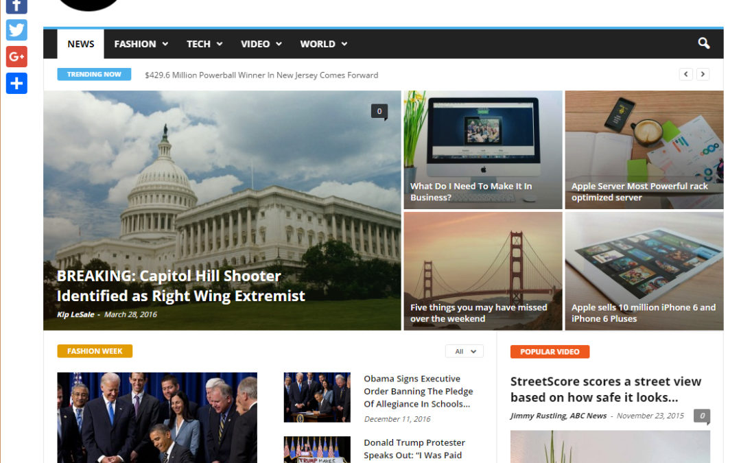 Are Fake News Sites Tainting the .co Extension?